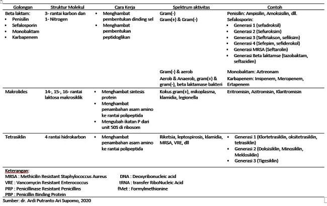 tabel 1 - FAKTA MEDIS TERKAIT RESISTENSI ANTIBIOTIK-min